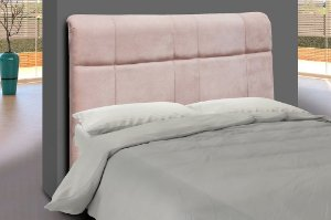 Cabeceira para cama Casal 160 cm Eros - Rosa