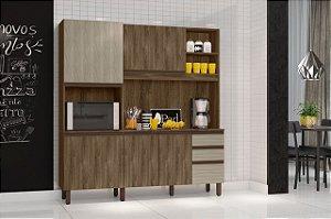 Cozinha compacta Anis Carvalho Berlim/ Viena - Mobler