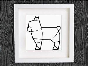 Bulldog Francês Geométrico