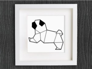 Pug Geométrico