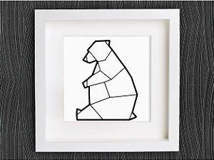 Urso Polar Geométrico