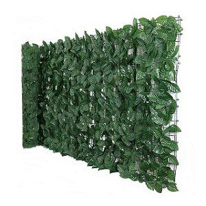 Muro Inglês com Folhas de Ficus Artificial 2mts X1mt