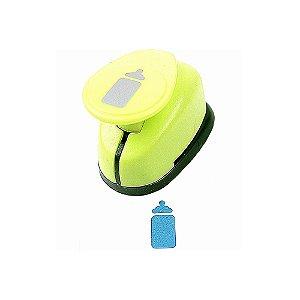 Furador para Papel 2,5 cm Mamadeira Outlet