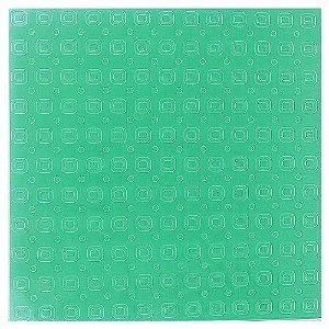 Placa de Textura Emboss 14 cm x 14 cm Quadradinhos