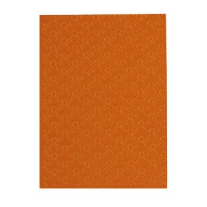 Placa de Textura Emboss 10,6 cm x 15 cm Leque