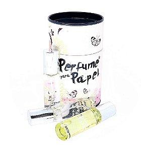 Kit 5 Perfume para Papel Eva Feltro e Tecido 5 Aromas 15ml