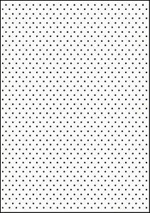 Placa de Textura Emboss A4 Poá Bolinhas