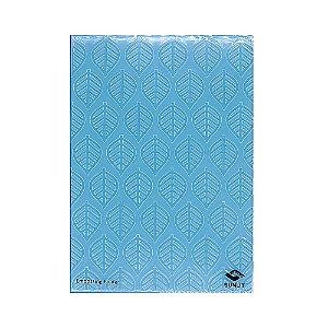 Placa de Textura Emboss 13 cm x 18 cm Folhas