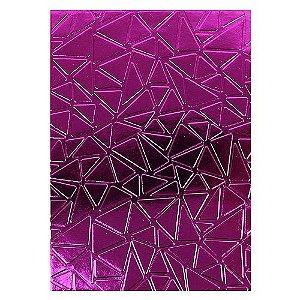 Placa de Textura Emboss 12,9 cm x 18,4 cm Mosaico