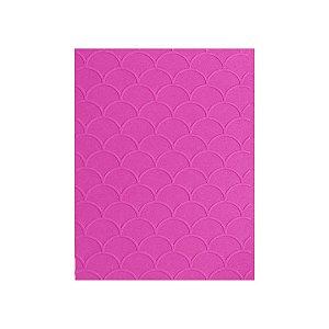 Placa de Textura Emboss 10,6cm x 15cm Escama