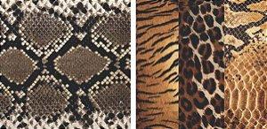 Papel para Scrapbook Desenhos 30,5x30,5 Art0176 Peles de Animais