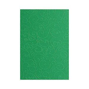 Placa de Textura Emboss 10,6 cm x 15 cm Arabesco