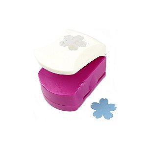 Furador para Papel 3,2 cm Flor Sakura APX