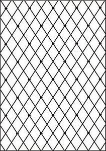 Placa de Textura Emboss A4 Losango