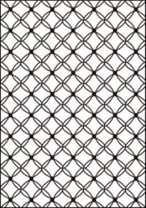Placa de Textura Emboss A4 Matelassê