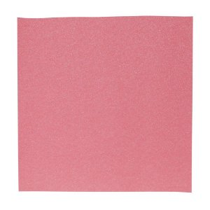 Papel Cardstock Scrapbook Glitter Holográfico Rosa 5 Folhas