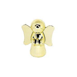 10 Unidades Caixinha Acrílica Metalizada Anjinho Dourado