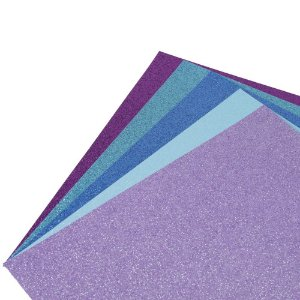 Bloco de Papel Glitter Cardstock 30,5 x 30,5 Under The Sea 50 Folhas