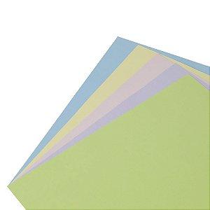 Coleção Papel Cardstock Scrap Color Primavera 10 Folhas