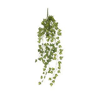 Pendente Folhagem com Folhas de Hera Verde 90 cm