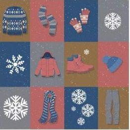 Papel para Scrapbook Desenhos 30,5x30,5 Art0170 Snow