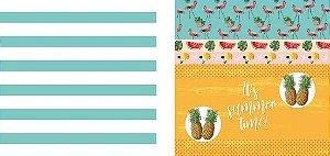 Papel para Scrapbook Desenhos 30,5x30,5 Art0016 Summer Time