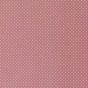 Coleção Papel Cardstock Scrap Poá Bolinha Vermelho 4 Folhas