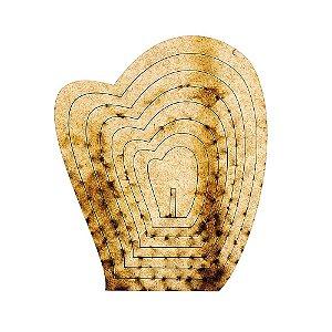 Gabarito Tulipa 10 cm x 15 cm