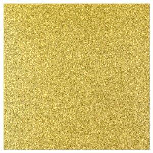 Glitter Paper Offset 180 grs 30,5 x 30,5 cm 2 unidades Dourado