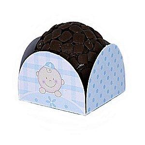 1000 Unid Forminha para Doces Baby Azul