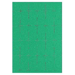 Placa de Textura Emboss 10,6 cm x 15 cm Tulipas PacMan
