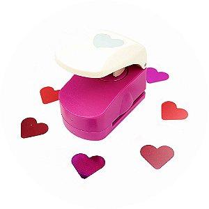 Furador para Papel 19 mm Coração