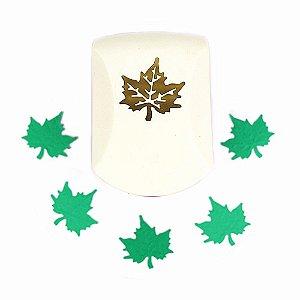 Furador para Papel 32 mm Folha Maple Emboss