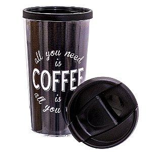 COPO TERMICO POP 200ML - ALL YOU NEED COFFE