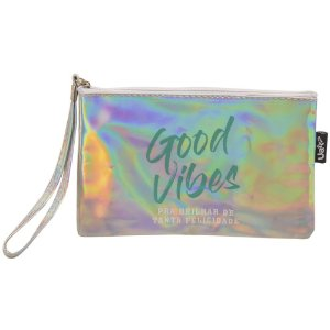 NECESSAIRE CARTEIRA DE MAO - GOOD VIBES