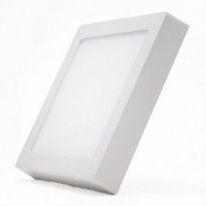 Painel Quadrado de Sobrepor 3000K - Branco Quente  LED