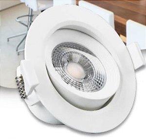 Luminária Downlight  Spot LED Redondo 5W  Bivolt
