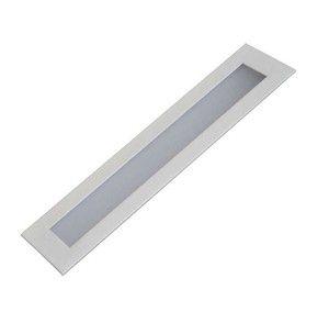 Luminária Embutir Painel LED 18W Retangular 10 x 60 cm