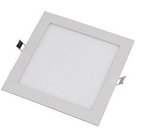 Painel LED Quadrado de Embutir 4000K - Branco Neutro