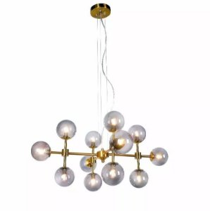 Lustre Pendente Moderno Ø 73 X 33 Cm Pd987 New Line Imports