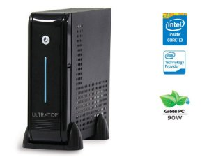 DESKTOP INTEL ULTRATOP ULTRATOP INTEL CORE I3-6100 3.7GHZ 4GB DDR4 500GB LINUX PRETO SERIAL