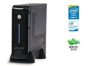 DESKTOP INTEL ULTRATOP ULTRATOP INTEL CORE I5-6400 2.7GHZ 4GB DDR4 500GB LINUX PRETO SERIAL