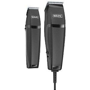 Combo Wahl Home Cut- Máquina de Corte 110v e Aparador (Dois Anos de Garantia)