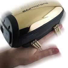 Massageador de Rosto Babyliss Pro VibeFX Dourado - Bivolt
