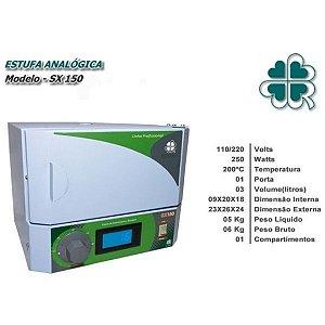 Aquecedor de Toalha Sterilifer  SX 150 - 3L - 4 Toalhas