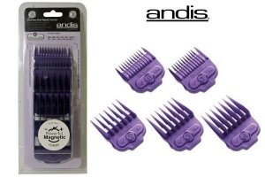 Pentes Magnéticos para Andis - Small Nano Silver Magnetic Comb Sets
