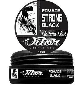 Pomada Modeladora Strong Black - (150g)