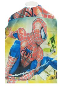 Capa de Corte Infantil Homem Aranha - Botões