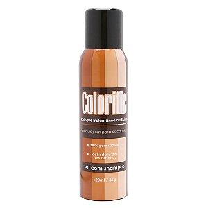 Colorific Preto - Retoque Instantâneo de Raízes - Maquiagem - Maquiagem para Cabelos - 120ml