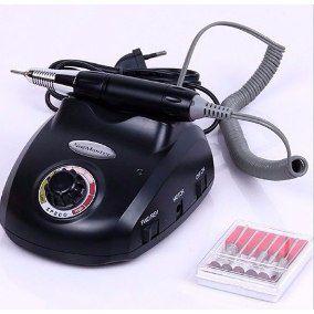 Lixa de Unha Nail Master - Elétrica - Acrigel - Com Pedal - 110v